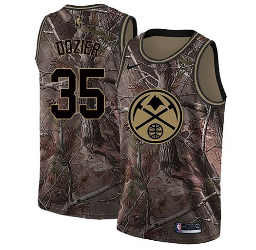 Youth PJ Dozier Denver Nuggets Nike Swingman Camo Realtree Collection Jersey
